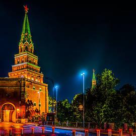 Alexander Senin - Borovitskaya Tower Of Moscow Kremlin