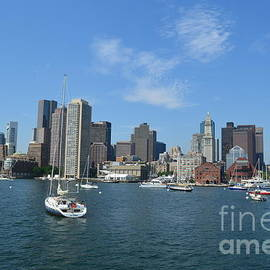DejaVu Designs - Boston Skyline