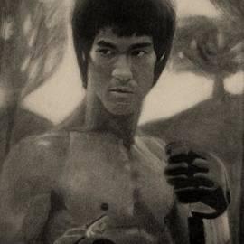 Vishvesh Tadsare - Bruce Lee - Sepia