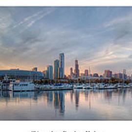 Twenty Two North Photography - Chicago from Burnham Harbor