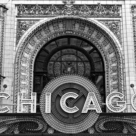 Frozen in Time Fine Art Photography - Chicago Theater Marquee