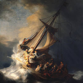 Rembrandt Van Rijn - Christ In The Storm On The Sea Of Galilee