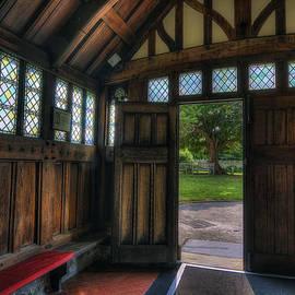 Ian Mitchell - Church Entrance