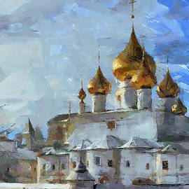 Yury Malkov - Church in Winter