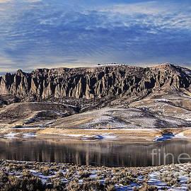 Janice Rae Pariza - Cimarron Colorado Chalk Cliffs