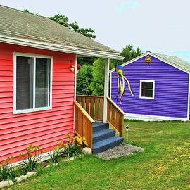 Allen Beatty - Colorful Cabins
