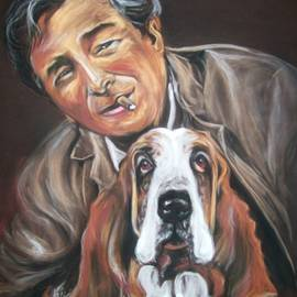 Martha Suhocke - Columbo and Dog