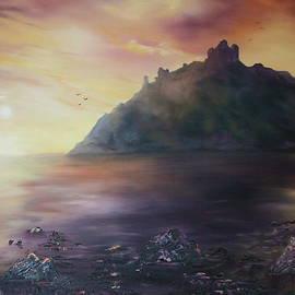 Jean Walker - Criccieth Castle North Wales