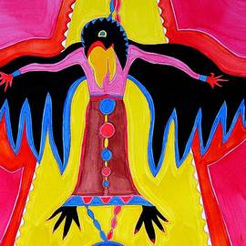 Sol Luckman - Crow Medicine original painting SOLD