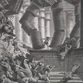 Gustave Dore - Death of Samson