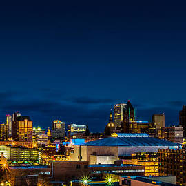 Randy Scherkenbach - Downtown Blue Hour
