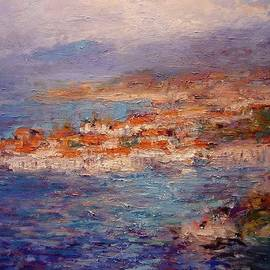 R W Goetting - Dubrovnik in the Afternoon