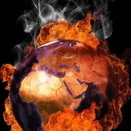 Martin Capek - Earth in flames