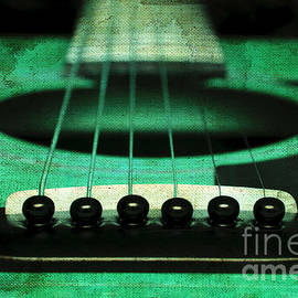 Andee Design - Edgy Abstract Eclectic Guitar 15