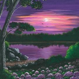 Cyndi Kingsley - Evening In Purple