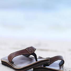 Elena Elisseeva - Flip-flops on beach