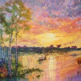Marie Green - Flooded Sunset
