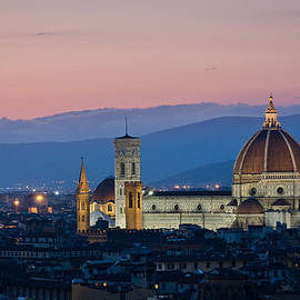 Pablo Lopez - Florence at Sunset