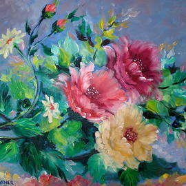 Marguerite Ujvary Taxner - Fluffy flowers