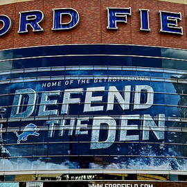 Frozen in Time Fine Art Photography - Ford Field