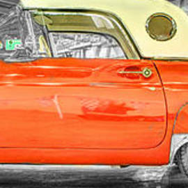 John Straton - Ford Thunderbird 3 Red