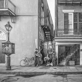 Steve Harrington - French Quarter Trio - Paint bw