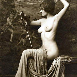 Studio Photographer  - From Risque Postcard Collection  6
