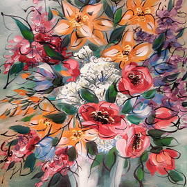 Natalie Holland - Garden Flowers