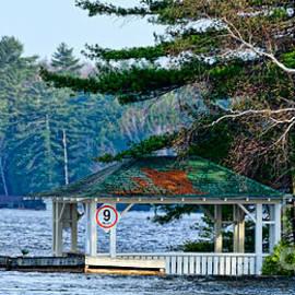 Les Palenik - Gazebo on lake