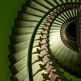 Jaroslaw Blaminsky - Green spiral staircase