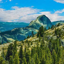 Bob and Nadine Johnston - Half Dome Yosemite National Park