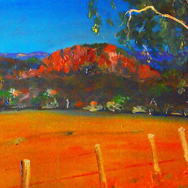 Margaret Morgan - Hanging Rock Woodend VIC