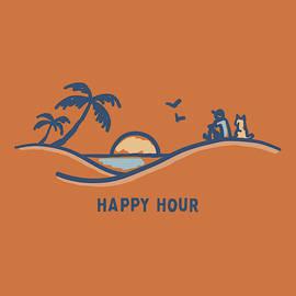 Happy Hour Sunset - Fine Art