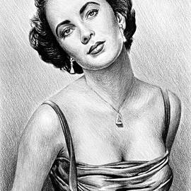 Andrew Read - Hollywood Greats  Elizabeth Taylor