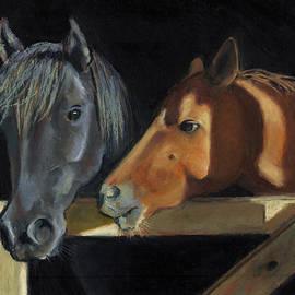 Joyce Geleynse - Horses Visiting At The Gate