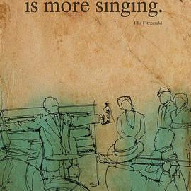 Pablo Franchi - Jazz Quote Ella Fitzgerald
