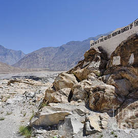 Robert Preston - Junction of the three great mountain ranges of the Karakorum Himalaya and Hindu Kush in Pakistan