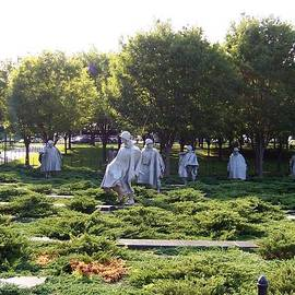 Catherine Gagne - Korean War Memorial