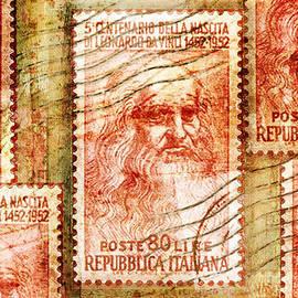 Douglas MooreZart - Leonardo Da Vinci 1952 Italian Stamp