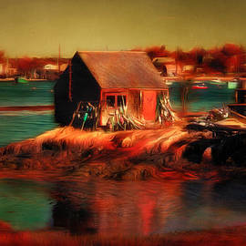 Jeff Folger - Lobster shack on Bailey Island Maine