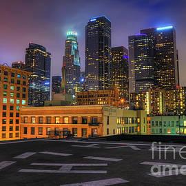 Eddie Yerkish - Los Angeles Skyline At Night