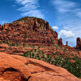 Amy Cicconi - Madonna and Child Two Nuns Rock Formations Sedona Arizona