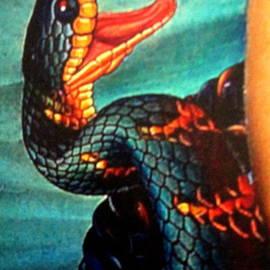 Moshe Rosental - Meeting  In  The  Snakes  Islands  Detail