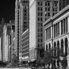Steve Gadomski - Michigan Avenue Chicago B W