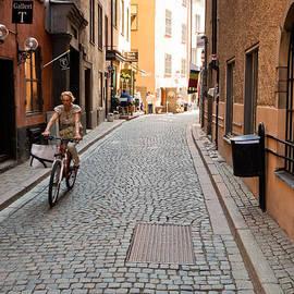 Thomas Marchessault - Narrow Stockholm Street Denmark