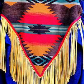 Photographic Art and Design by Dora Sofia Caputo - Native American Shawl