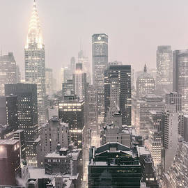 Vivienne Gucwa - New York City - Snow Covered Skyline