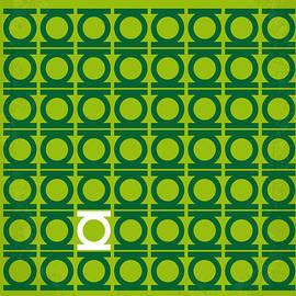 Chungkong Art - No120 My GREEN LANTERN minimal movie poster