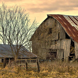 Rick Grisolano Photography LLC - Old Barn and Shed Cloudy Winter Day #1