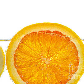 Elena Elisseeva - Orange lemon and lime slices in water